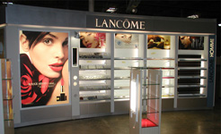 Print indoor amenajare magazin Lancome